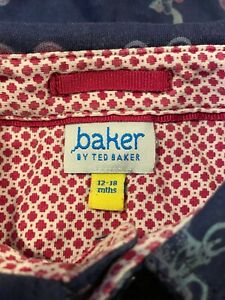Baker by Ted Baker baby romper suit - used, very good condition - Age 12-18mths