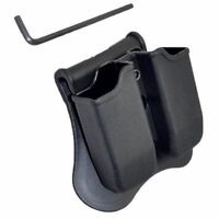 Tactical Scorpion: Fits Glock 19 17 22 23 26 34 35 Polymer Double Magazine Pouch