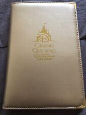 Shanghai Disney Resort Memo Note Pad Grand Opening Design