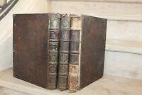 Oeuvres meslées de Mr de saint-evremond (3 tomes reliés) 1709