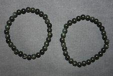 Stretcharmband aus Regenbogenobsidian Armband 19 cm 6 mm Perlen Obsidian