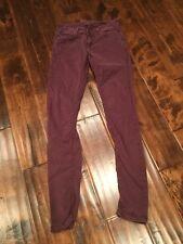 "Siwy ""Leona"" Purple Skinny Jeans, Size 24"