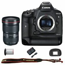 Canon EOS 1DX mark II DSLR Camera Body with EF 16-35mm f/2.8L III USM Lens