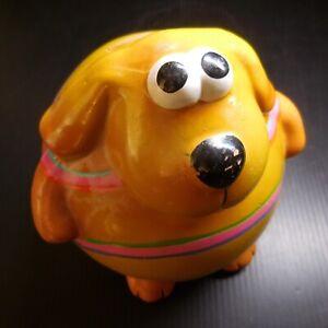Céramique terre cuite tirelire chien vintage art déco statue figurine N7653