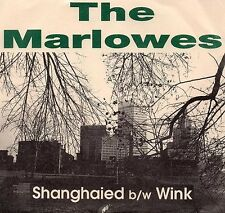 The Marlowes 45 Shanghaied - Private New England Power Pop - HEAR