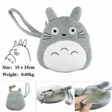 UK Stock Anime My Neighbour Totoro Women's Coin Purses Pouches 15cm