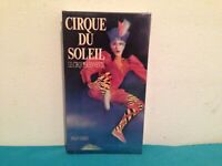 Cirque du soleil  Le cirque reinvente VHS tape & sleeve FRENCH  SEALED