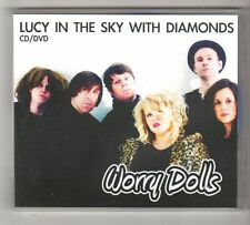 (FZ788) Worry Dolls, Lucy In The Sky With Diamonds - DJ CD + DVD