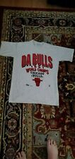 1991 Chicago Bulls World Champion Vintage T Shirt Large Never Worn