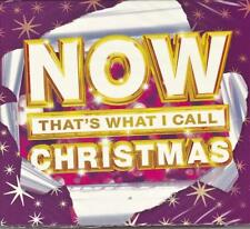 NOW THAT'S WHAT I CALL CHRISTMAS - VARIOUS ARTISTS (NEW SEALED 3CD)
