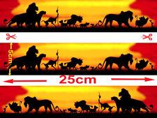 Lion King  EDIBLE ICING Strips  WRAP   CAKE  IMAGE FROSTING SHEET