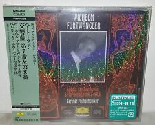 SHM-CD BEETHOVEN - FURTWANGLER - SYMPHONIEN 7-8 - PLATINUM JAPAN UCCG-40034