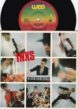 Inxs ORIG OZ PS 45 One thing EX '82 WEA 100218 New wave Dance Rock