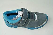 Ecco Biom Kinderschuhe mit Klettverschluß blau Gr. 30 + 34  mit Goretex+44082004