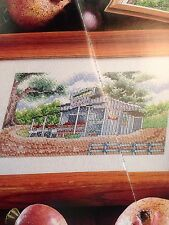 """Two Cross Stitch Patterns - """"Fruit Stand"""" and """"Ming Vases"""""""