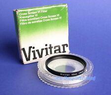 Vivitar Cross Screen VI Filter 55 mm Stern Filter 00917