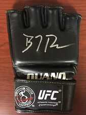 BJ PENN SIGNED UFC GLOVE - mma pride autograph ouano