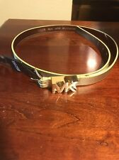 Women's Michael Kors Gold Belt Size Large