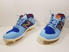 New Balance Fantomfit 19 REV Lite Baseball Shoes Blue Sea LM3000G3 Sz 11 1/2