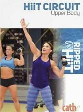 CATHE FRIEDRICH RIPPED WITH HIIT HIIT CIRCUIT UPPER BODY DVD NEW SEALED WORKOUT