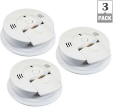 Combination Ionization CO Smoke Alarm W/ Voice Warning Battery Operated (3-Pack)