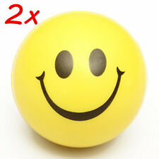2pcs Smiley Face Anti Stress Reliever Ball ADHD Autism Mood Toys Squeeze Random