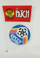 """Vtg RARE 1982 Walt Disney World Epcot Center 3"""" Embroidered Patch Mickey Mouse."""