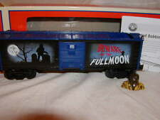 Lionel 6-83257 Halloween Werewolf Fullmoon Bobbing Head Box Car New 2016