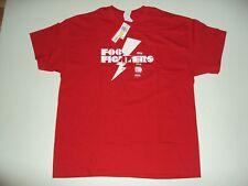 Foo Fighter Lighting Bolt Red  X-Large Live Nation T-Shirt Brand New