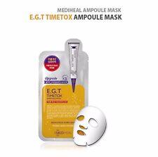10 Pcs Mediheal EGT Timetox Ampoule Mask Tightening Anti-wrinkle Face Skin Care