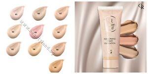 Golden Rose Moisturizing Cream Foundation Natural Color Vitamin A E Long-Lasting