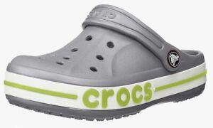 Crocs Child Unisex Bayaband Clog K Grey Toddler Size 7C