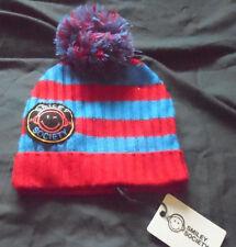 Smiley Bobble Pom Pom hat Festival Rave