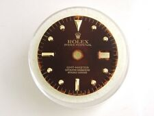 VINTAGE ROLEX GMT MATTE BROWN NIPPLE DIAL (16753)  FOR QUICK SET
