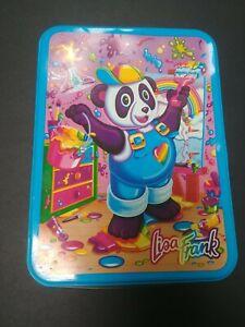 Vintage Lisa  Frank Tin -- Painter Panda