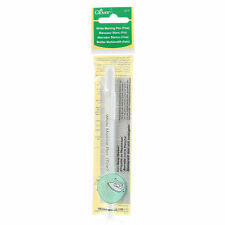 Water Soluble or Iron Off Marking Pen White Sewing Quilting