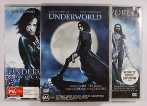 Underworld / Evolution / Rise Of The Lycans Trilogy DVD TRACKED POST