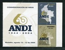 Colombia 1229a-b, MNH, National Association of Contractors 2004. x29859