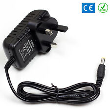 12v Ac Dc Power Supply Para Tc Helicon Voicelive 3 PSU Reino Unido Cable 2a Nc