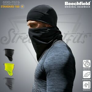 Face Mask Snood Neck Warmer Softshell Washable Scarf Breathable Cover Protection