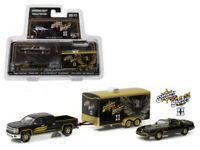 Greenlight 1/64 Smokey and The Bandit 1980 Pontiac TransAM 2015 Silverado 31010B