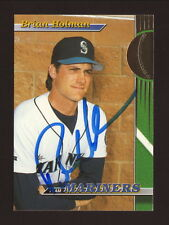 Brian Holman Autographed Card--Seattle Mariners