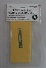 Vinyl Record Cleaning Cloth, Anti Static 8 x 9 NEW IN BAG (Cleaner Antistatic)