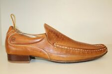 Bronx Mens Shoe Sz US 10.5-11 / EU 44 Brown Leather Slip On Pointed Toe Loafers