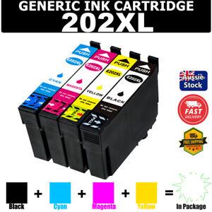 Generic Ink Cartridges 202 XL 202XL for Epson Workforce WF-2860 WF2860 XP5100