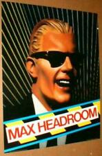 MAX HEADROOM 1986 Original Poster near MINT