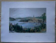 1842 Bartlett print DERRY / LONDONDERRY, NORTHERN IRELAND (#74)