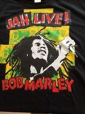 Bob Marley T-Shirt (MED) Genuino De Colección 1992 Print