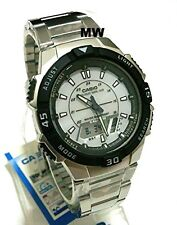 Casio Tough Solar Mens Sports 5 Alarms World Time Watch AQ-S800WD-7EV AQS800WD