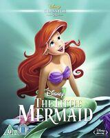 THE LITTLE MERMAID [Blu-ray] (1989) Disney Classic Original Animated Movie Ariel